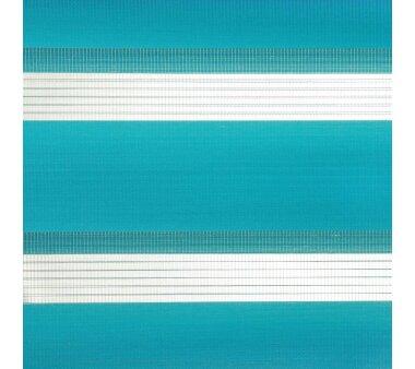 LIEDECO Klemmfix Duo-Rollo mini 080 x 200 cm blau