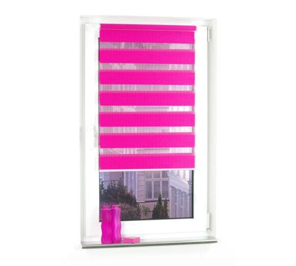 plissee faltstore bordeaux 80x200 cm liedeco. Black Bedroom Furniture Sets. Home Design Ideas