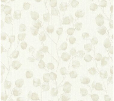 A.S. Création Tapete Vlies Blooming Creme Beige...