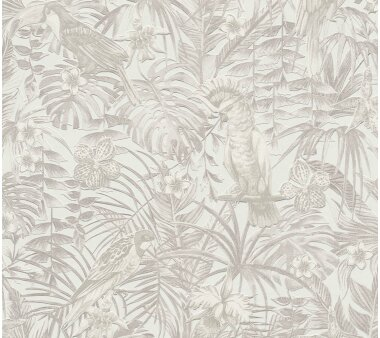 A.S. Création Tapete Vlies Greenery Creme Beige...