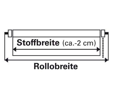 GARDINIA Doppelrollo mit weißer Aluminumkassette 60 x 160 cm weiß
