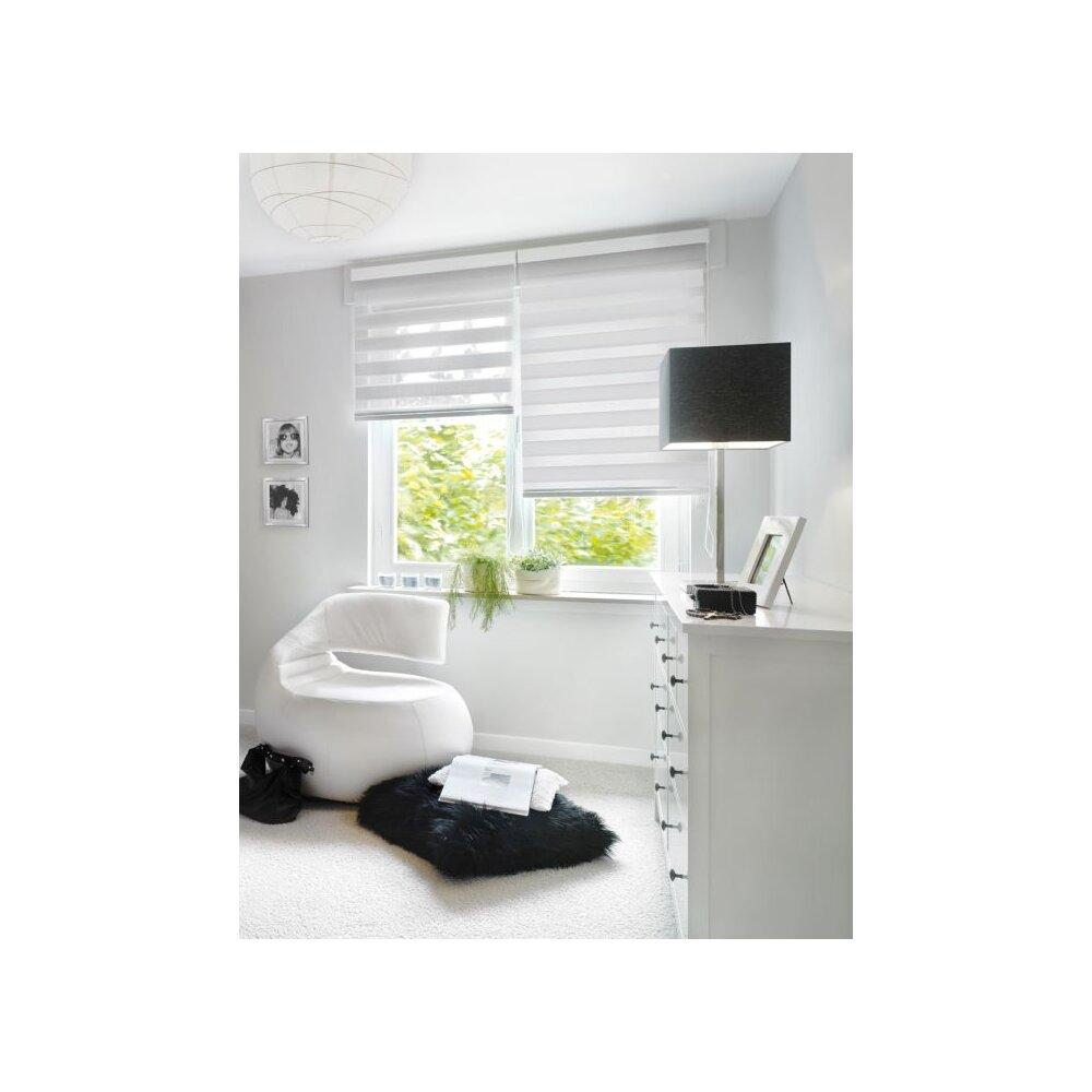 duo rollo doppelrollo wei 120x160 cm gardinia. Black Bedroom Furniture Sets. Home Design Ideas