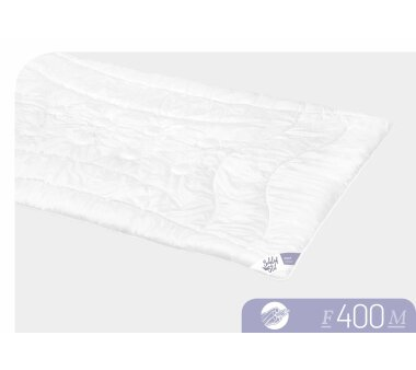 SCHLAFSTIL Faser-Monodecke F400 Wärmegrad medium