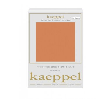 Kaeppel Single Jersey Spannbettlaken mit Elasthan, Fb....