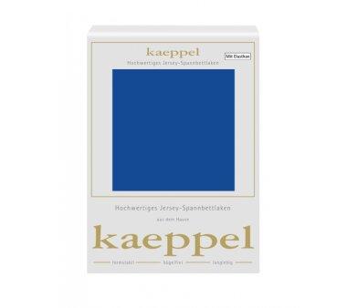Kaeppel Single Jersey Spannbettlaken mit Elasthan, Fb. royal