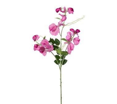 Kunstblume Wickenzweig, 3er Set, Farbe rosa, Höhe...