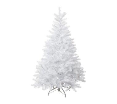 Künstlicher Tannenbaum beschneit, 506 Zweige, Farbe...