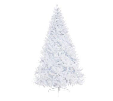 Künstlicher Tannenbaum beschneit, 1261 Zweige, Farbe...