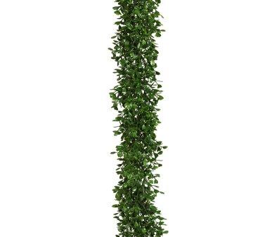 Künstliche Buchsbaumgirlande, Farbe grün,...