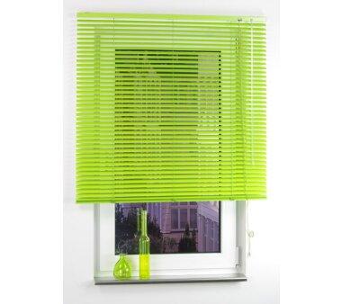 LIEDECO Aluminium-Jalousie  120 x 160 cm  Fb. apple green