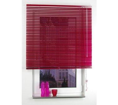 LIEDECO Aluminium-Jalousie  080 x 160 cm  Fb. red magnolia