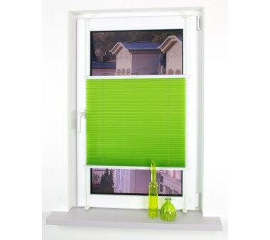 LIEDECO Klemmfix-Plissee verspannt  045 x 150 cm  Fb. green apple