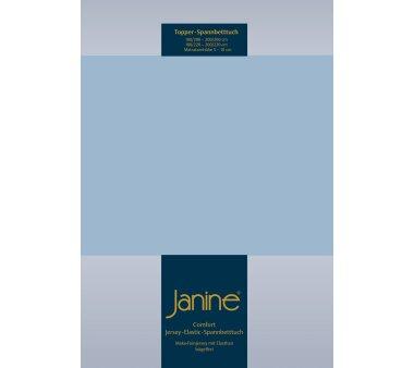 Janine Comfort-Jersey-Spannbettlaken 5001, mit Elasthan,...