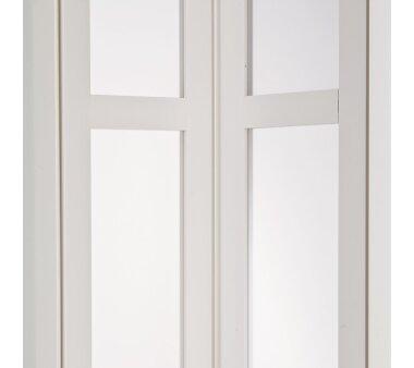 Falttür MARLEY President NewEdition mit Fenster satiniert, mit Schloss, B 86 x H 205 cm, weiss