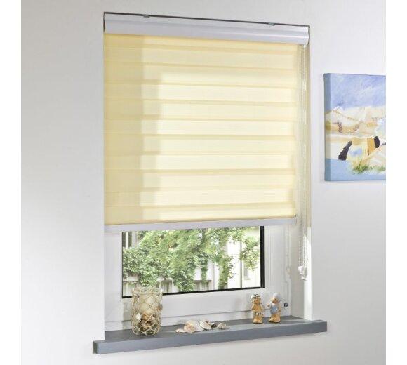 liedeco duo rollo apricot 120x160 cm indiv regelbar. Black Bedroom Furniture Sets. Home Design Ideas