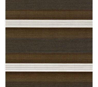 LIEDECO Duo-Rollo mit Blende 60 x 160 cm braun