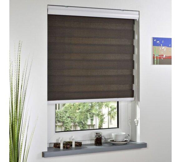 liedeco duo rollo espresso 120x160 cm bei wohnfuehlidee. Black Bedroom Furniture Sets. Home Design Ideas
