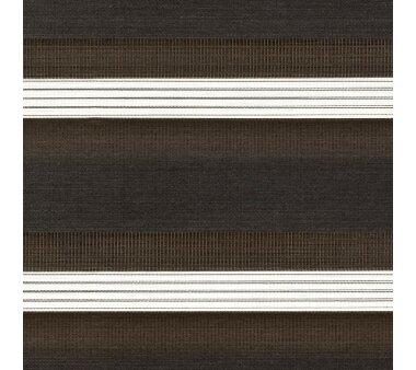 LIEDECO Duo-Rollo mit Blende 120 x 160 cm espresso