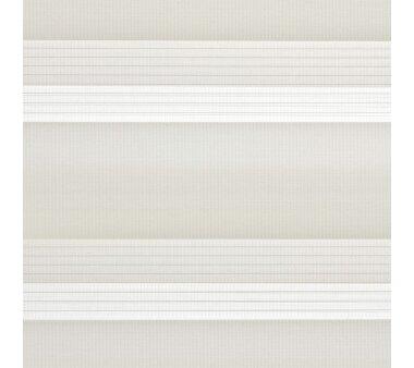 LIEDECO Duo-Rollo mit Blende 90 x 220 cm ecru