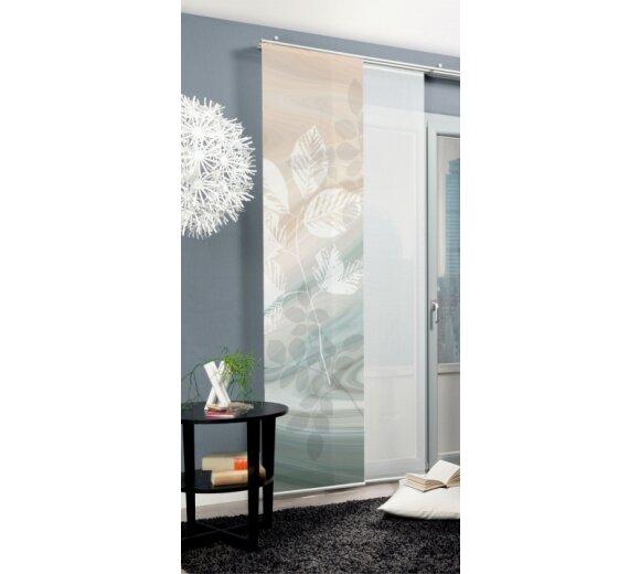 6539df4ecd8784 ... Schiebevorhang Deko blickdicht TOUPILLON Fb. braun Größe BxH 60x245 cm