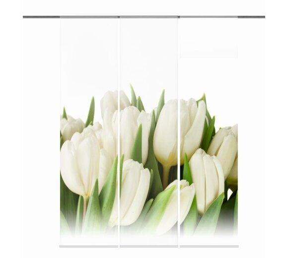 fl chenvorh nge 3er set tulpa online kaufen. Black Bedroom Furniture Sets. Home Design Ideas