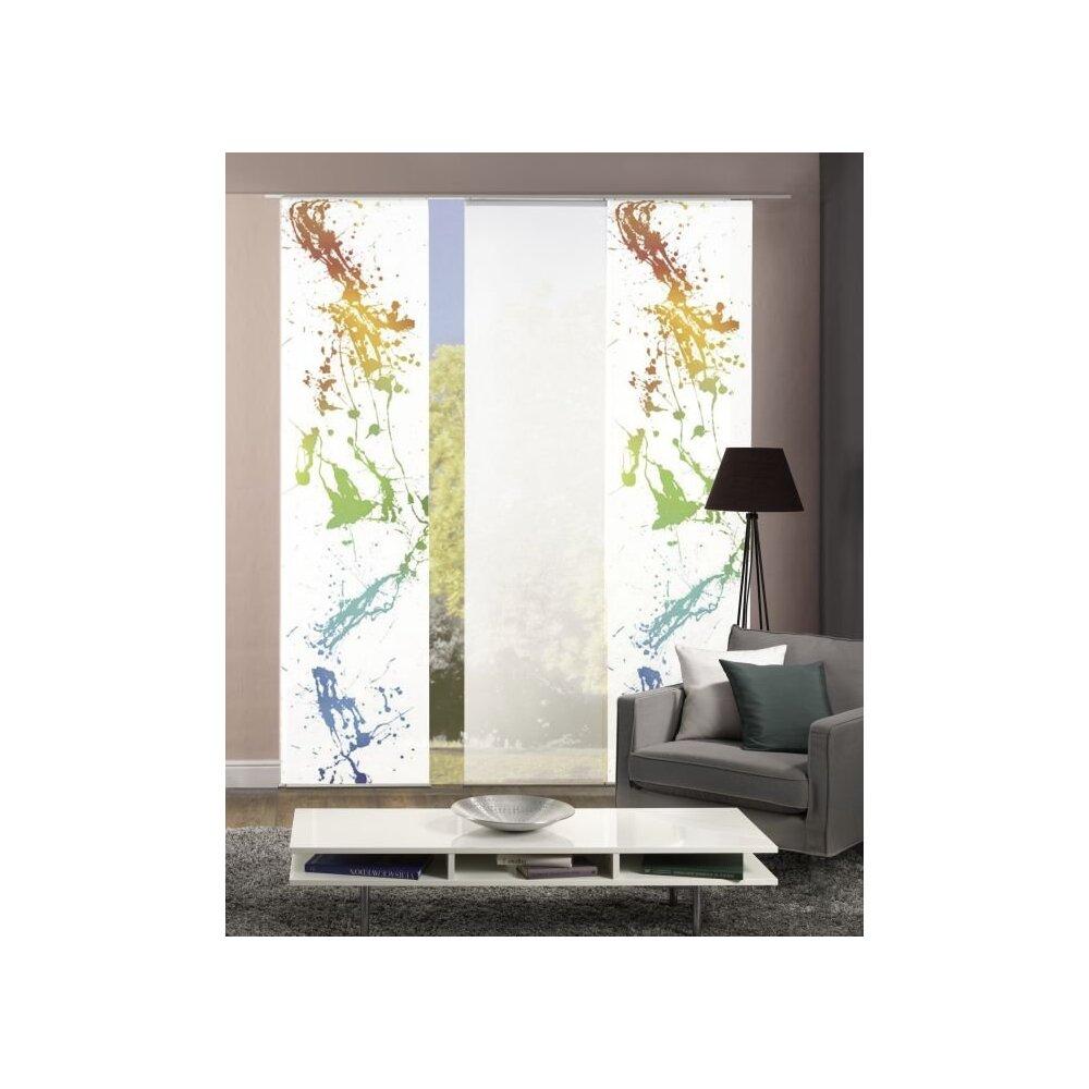 fl chenvorh nge 3er set bianca bunt online kaufen. Black Bedroom Furniture Sets. Home Design Ideas