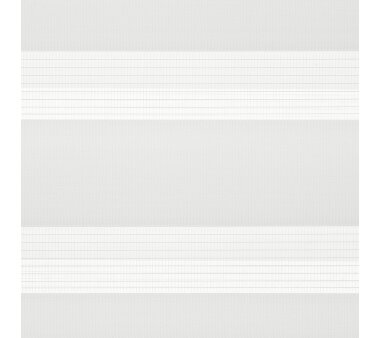 LIEDECO Klemmfix Duo-Rollo mini 060x160 cm (3 Stück) weiß inkl. Klemmträger