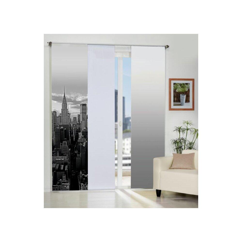 fl chenvorh nge 3er set new york online kaufen. Black Bedroom Furniture Sets. Home Design Ideas