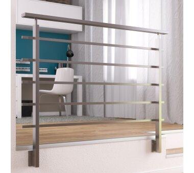 Geländer-Set   DOLLE   Alu Form eckig 1,50 m,...