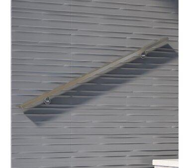 Handlauf-Set eckig   DOLLE   Aluminium 1,50 m