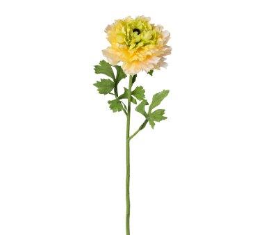 Kunstblume Ranunkel, 4er Set, gelb, Höhe ca. 46 cm