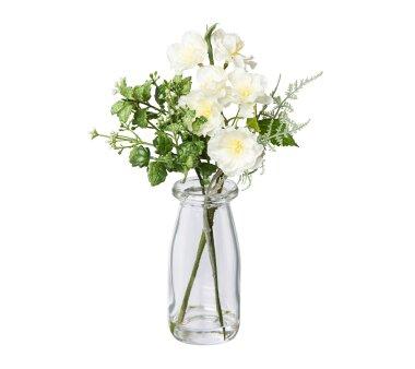 Kunstpflanze Kirschblüten-Mix, 2er Set, weiß,...