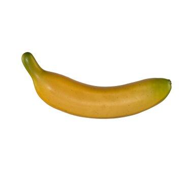 Deko-Banane, 6er Set, gelb, ca. 18 cm