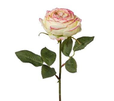 Kunstblume Rose, 4er set, grün, Höhe ca. 38 cm