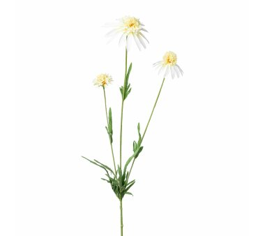 Kunstblume Sonnenhut, 4er Set, creme, Höhe ca. 65 cm