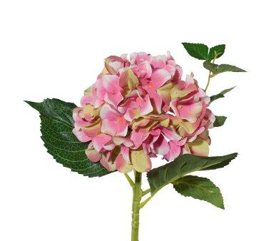 Kunstblume Hortensie, 3er Set, rosa-mix, Höhe ca. 46 cm