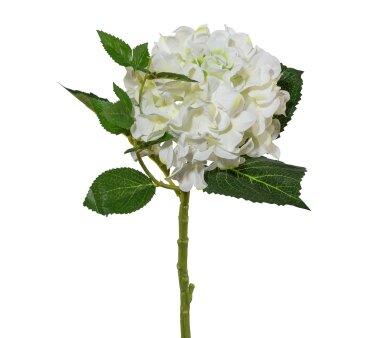 Kunstblume Hortensie, 3er Set, weiß, Höhe ca....