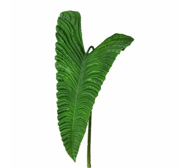 Künstliches Taroblatt, grün, Höhe ca. 107 cm