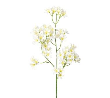 Künstlicher Blütenzweig, 5er Set, weiß,...