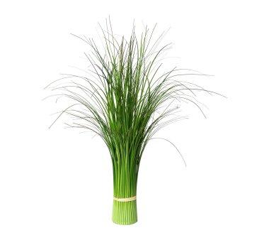 Künstlicher Stehgrasbusch, grün, Höhe 60 cm