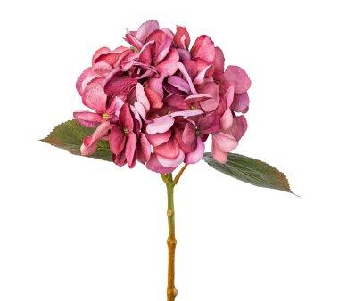 Kunstblume Hortensie, 2er Set, fuchsia, Höhe ca. 45 cm