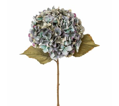 Kunstblume Hortensie, 2er Set, blau, Höhe ca. 65 cm