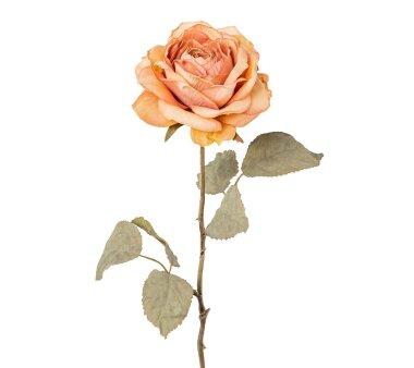 Kunstblume Rose, 3er Set, altrosa, Höhe ca. 56 cm