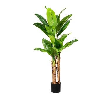 Künstliche Bananenpflanze, grün, inklusive...