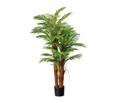 Kunstpflanze Arecapalme, grün, mit Cocosstamm, inkl....