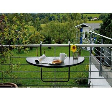BEST Freizeitmöbel Balkonhängetisch Butler,...