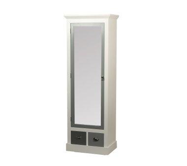 Garderobenschrank 2323, mit 1 Spiegeltür und 2...