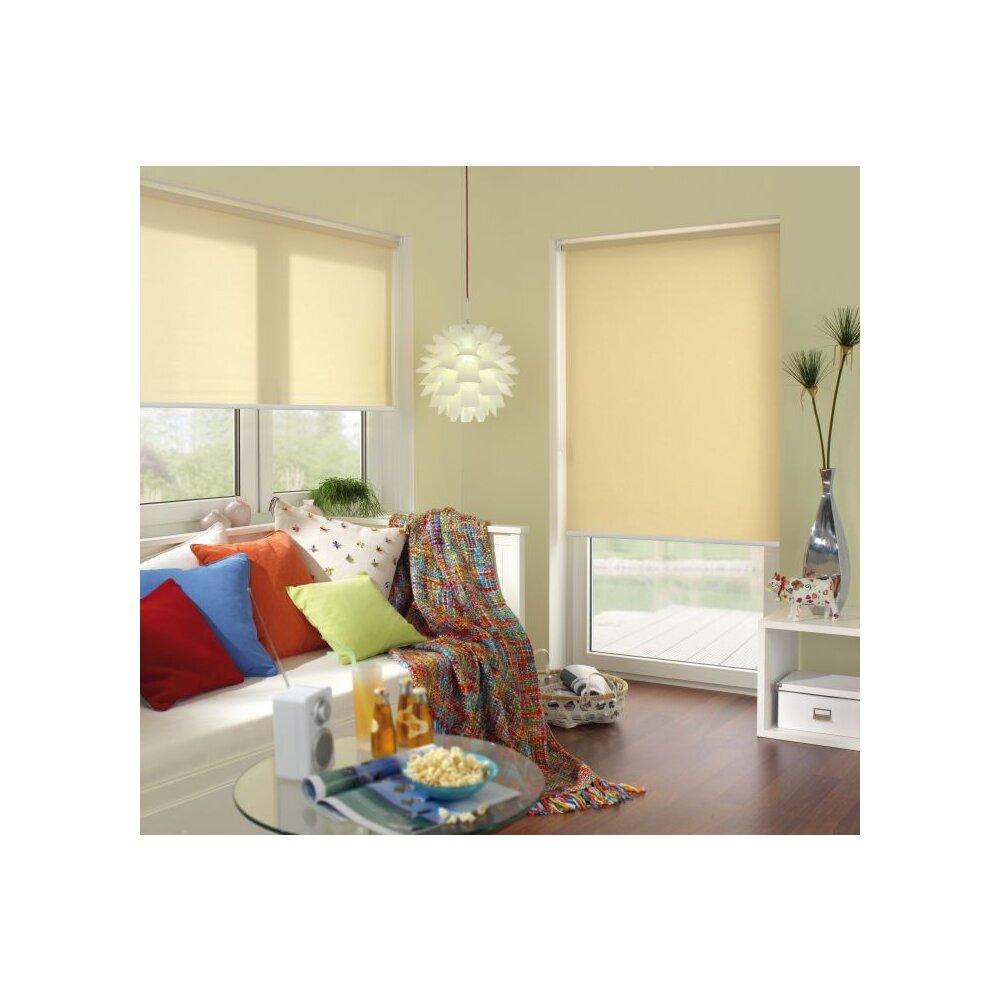 seitenzugrollo silvalin natur von gardinia online kaufen. Black Bedroom Furniture Sets. Home Design Ideas