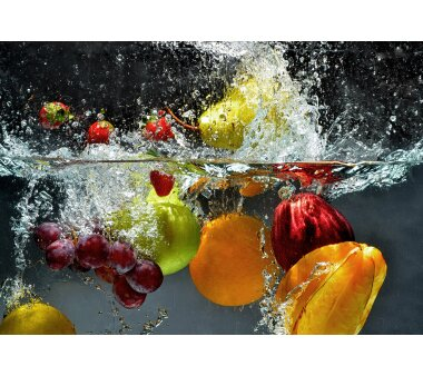 AS Creation Fototapete FRISCHES OBST 118843, 8 Teile,...
