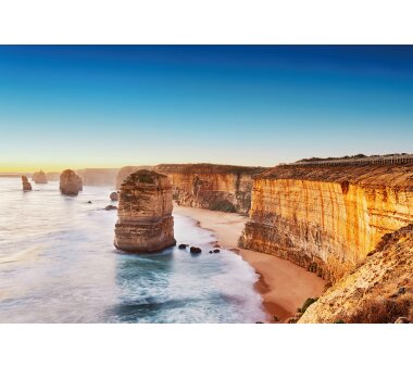 AS Creation Vlies-Fototapete CLIFF AT SUNSET IN AUSTRALIA...